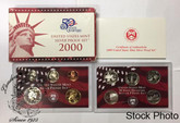 United States: 2000 Silver Proof Set