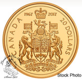 Canada: 2017 (1967) 20 Dollars Commemorative Silver Proof Centennial Coin