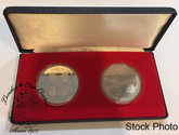 Canada 1977 Governor General Medal Set Includes Silver (2 Coins)