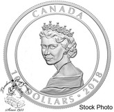 Canada: 2018 $100 Portrait of a Princess 10 oz. Pure Silver Coin