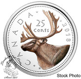 Canada: 2018 25 Cents Coloured Pure Silver Coin