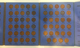United States: 1909 - 1940 Lincoln Head Cent Collection - Whitman Folder