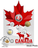 Canada: 2018 From Far and Wide - Canadian Circulation 6-Coin Set