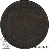 Canada: Nova Scotia 1861 Large 1 Cent Large Bud F12