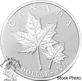 Canada: 2013 $10 Maple Leaf 1/2 oz Pure Silver Coin