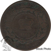 Canada: New Brunswick 1861 Large 1 Cent G4