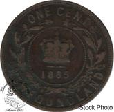 Canada: Newfoundland 1885 Large Cent VG8