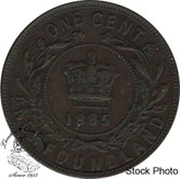 Canada: Newfoundland 1885 Large Cent VF20