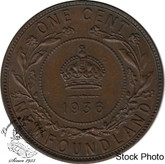 Canada: Newfoundland 1936 Large Cent 60BN
