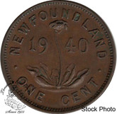 Canada: Newfoundland 1940 Small Cent EF40