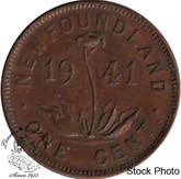 Canada: Newfoundland 1941c Small Cent EF40