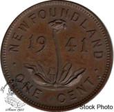 Canada: Newfoundland 1941c Small Cent AU50