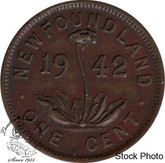 Canada: Newfoundland 1942 Small Cent EF40