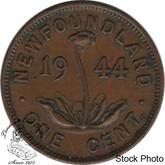 Canada: Newfoundland 1944c Small Cent EF40