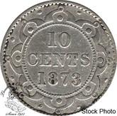 Canada: Newfoundland 1873 Obverse #2 10 Cent G4