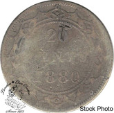 Canada: Newfoundland 1880 20 Cent G4