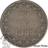 Canada: Newfoundland 1882H 20 Cent VG8