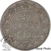 Canada: Newfoundland 1896 20 Cent Small 96 F12