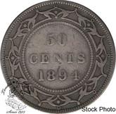 Canada: Newfoundland 1894 50 Cent VG8
