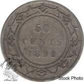 Canada: Newfoundland 1899 50 Cent N9 F12