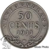 Canada: Newfoundland 1911 50 Cent F12