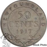 Canada: Newfoundland 1917c 50 Cent F12