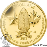 Canada: 2013 $5 Devil's Brigade Pure Gold Coin