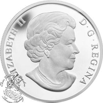 Oh Canada Series Niagara Falls 2013 $10 1//2 oz Fine Silver Coin