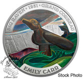 Canada: 2018 $50 Famous Canadian Art: Emily Carr 5 oz. Pure Silver Coin
