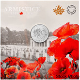 Canada: 2018 $10 100th Anniversary of the Armistice 1/2 oz. Pure Silver Coin