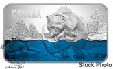 Canada: 2018 $25 Salmon Run Pure Silver Ultra-High Relief Coin