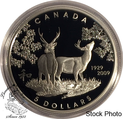 Hanging The Stockings 2009 Canada $4 Fine Silver Coin