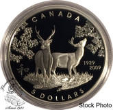 Canada: 2009 $5 80th Anniversary of Canada in Japan Silver Coin