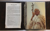 Canada: 1984 Pope John Paul II 15 Medallion Set in Binder