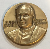 Poland: Pope John Paul II: A Son of Poland Medal 63mm