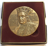 Poland: 1986 600th Anniversary of the Coronation of Wladyslaw Jagiello Medal 63mm