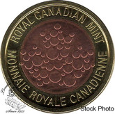 Canada: 2018 25 Cent Size R&D Security Tri-Metal Test Token