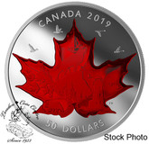 Canada: 2019 $50 Celebrating Canada's Classic Icons 5 oz. Pure Silver Coin