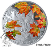 Canada: 2019 $30 Wily Wolf 2 oz. Pure Silver Coin