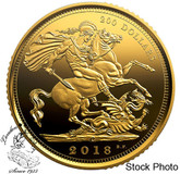 Canada: 2018 $200 The 1908 Sovereign: 110th Anniversary of the Royal Canadian Mint 99.999% 1 oz. Pure Gold Coin