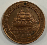 Victory Trafalgar Oct. 21 1805 British & Foreign Sailers Medal
