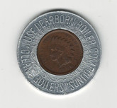 Use Dearborn Boiler Compounds 1896 Indian Head Encased Lucky Penny