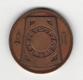 Masonic Penny - No Date