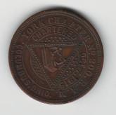 Masonic Penny: Columbus Ohio 1915 York Chapter No. 200
