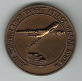 US Air Force US Army Joint Stars - Join Surveillance Target Attack System Medallion