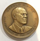 Gerald R. Ford Vice President of the United States Huge Medal