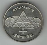1867 - 1967 Centennial Medal Scarborough Ontario