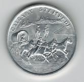 Calgary Stampede Aluminum Medallion