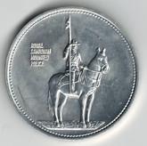 RCMP Aluminum Medallion