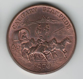 Calgary Stampede Copper Medal